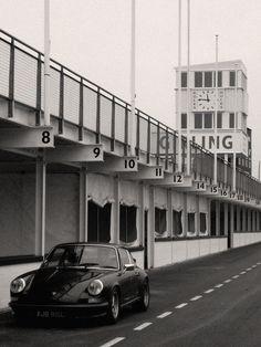 Porsche 911 at Goodwood.