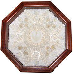 Wedding Bliss  8 inches  mahogany box