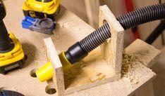 DustCollectorStand #WoodworkingTips