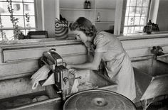 laundry in 1942