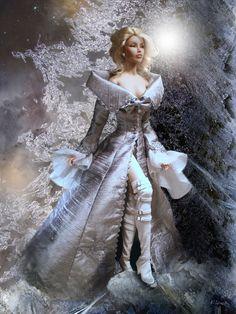 Amazing Ice Queen Tonner OOAK Barbie doll