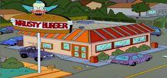 Uma nova expansão no Universal Orlando para os amantes dos The Simpsons. A nova área inclui um Krusty Burger.