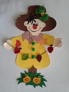 bonhomme automne activité bricolage enfants