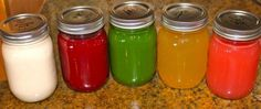 tried and true juicing recipes