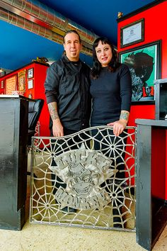 JASON BUCHANAN | WEDNESDAY, JANUARY 18, 2017 Exiles off Main Street: How former downtown Ann Arbor businesses are thriving in new locations  Dana Forrester and James Trunko at Lucky Monkey Tattoo Parlor