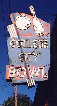 College City Bowl ~ Macomb, Illinois