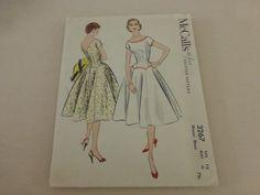 Vintage McCalls Pattern 3267 Misses Drop by VintagePatternDrawer, $11.95