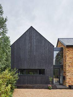 Napier Clarke Architects reorganises and modernises 1970s house