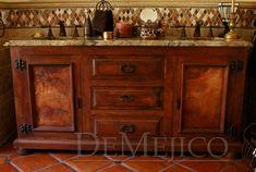 Bath vanity.  Demejico - Robert, Eddie & Bianca Luna. Santa Clarita, CAL.