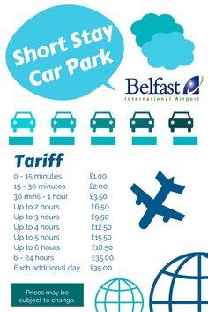 Best parking option at or near belfast international airport