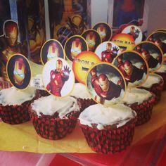Cupcakes personalizados con Iroman!