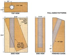 How to make a Pocket Hole Jig - Woodworking Talk - Woodworkers Forum
