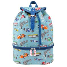 Racing Cars Kids Drawstring Sports Backpack | Cath Kidston |