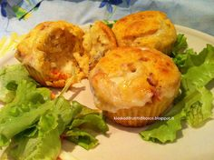 Kiosko di frutti di bosco: Muffin ai pomodori secchi con cuore di gorgonzola:...