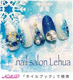 クリスマスネイル♡定額11,500円プラン|ネイルデザインを探すならネイル数No.1のネイルブック New Years Nail Designs, Holiday Nail Designs, Red Nail Designs, Simple Nail Art Designs, Christmas Gel Nails, Winter Nail Art, Christmas Nail Art, Summer Acrylic Nails, Pastel Nails