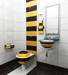 Шокирующий дизайн туалетных комнат! | Мой мир в фотографиях