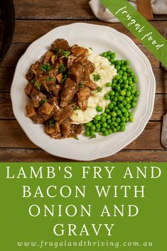 Lamb's Fry and Bacon is a retro recipe that's cheap, nutritious and hearty. Here's how to cook it. Frugal Recipes, Healthy Recipes On A Budget, Frugal Meals, Budget Meals, Healthy Food, Lamb Bacon, Cheap Dinners, Retro Recipes