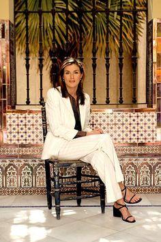 Letizia Ortiz Rocasolano cuando aún ejercía de periodista