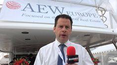 Rob Wilkinson, directeur général d'AEW Europe (Mipim 2015)