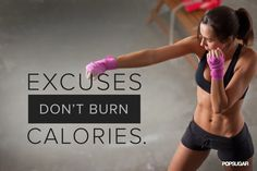 The latest tips and news on Motivational Quotes are on POPSUGAR Fitness. On POPSUGAR Fitness you will find everything you need on fitness, health and Motivational Quotes. Fitness Workouts, Exercise Fitness, Fitness Tips, Health Fitness, Fitness Gear, Women's Health, Paleo Fitness, Health Tips, Boxing Fitness