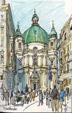 Wolfgang Krisai - Peterskirche, Austria