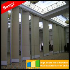 Best Selling Folding movable wall For Reception Hall Suppliers philippines