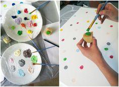 DIY // Happy Dots Wall Art - Shop Sweet Things