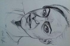 Ilandi Barkhuizen. Pen on Artist book. 2014. Natasha Negovanlis