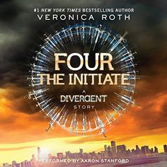 """Another must-listen from my #AudibleApp: """"Four: The Initiate"""" by Veronica Roth, narrated by Aaron Stanford."""