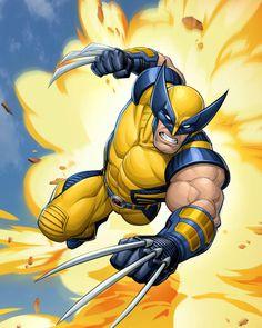 Wolverine by PatrickBrown on DeviantArt
