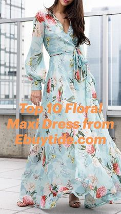 Floral Fashion, Women's Fashion, Entrepreneur Inspiration, Floral Maxi Dress, Ladies Fashion, Color Trends, Free Pattern, Your Style, Floral Prints