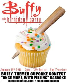 Buffy Cupcake (I would be curious to see the entries for the cupcake contest)