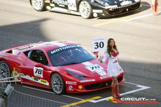 Ferrari 458 Italia & a COTA grid-girl
