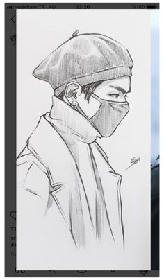 Art Drawings Beautiful, Dark Art Drawings, Pencil Art Drawings, Hard Drawings, Kpop Drawings, Cartoon Drawings, Arte Sketchbook, Art Drawings Sketches Simple, Anime Sketch