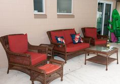 Target Home Rolston Wicker Patio Furniture Collection