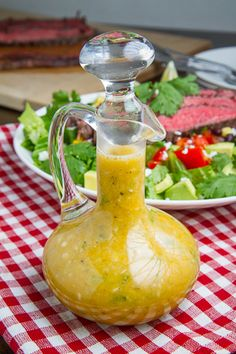 Mexican Mojo Dressing - with orange and lime juice, garlic, jalapeño, fresh and bottled spices, and more - Spicy and delicious! - Kevin, Closet Cooking