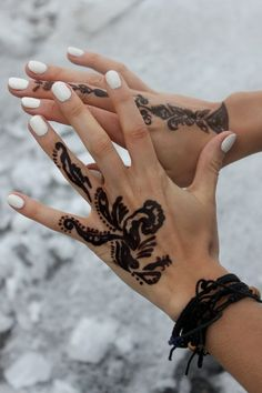 henna, i think this is black marker though