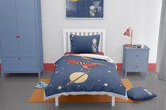 Space themed toddler duvet set Space Themed Nursery, Nursery Themes, Room Themes, Nursery Ideas, Toddler Duvet Set, Toddler Quilt, Truck Toddler Bed, Toddler Boys