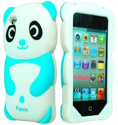 Amazon.com: Bastex Cute 3D Silicone Teddy Bear Case for Apple iPod Touch 4, 4th Generation - Brown: Cell Phones & Accessories