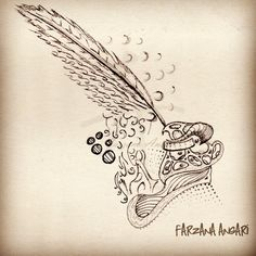 Magic Ink   #illustrations #inkart
