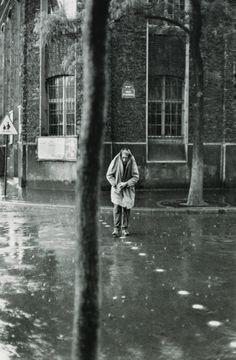 Alberto Giacometti, Rue D'Alésia, Paris, 1961 Henri Cartier-Bresson
