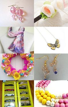 Dreams of Spring and Sunshine by Rhia Cooper-Dixon on Etsy--Pinned with TreasuryPin.com