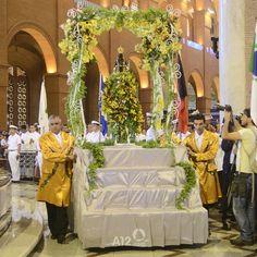 Carro Andor | 2014 | Missa Solene em Honra Nossa Senhora Aparecida. Foto: Thiago Leon