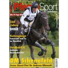 PFERDESPORT INTERNATIONAL 22/2013 - das Magazin für Spingreiten, Dressur, Zucht und Reitsport  Hier bestellen: http://www.online-kiosk-24.de/einzelhefte/sport-unterhaltung/sport-allgemein/pferdesport-international