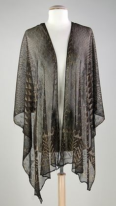 Evening stole | Egyptian | The Met