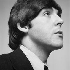 Portrait of Paul McCartney, 1965. Happy Birthday (June 18, 1940). Paul McCartney: 70 Iconic Images for 70 Years - LightBox  Photographer:  David Montgomery—Getty Images