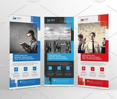 Roll-Up Banner by Cristal Pioneer on @creativemarket