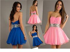 A Line Sweetheart  Mini  Chiffon  Homecoming Dresses