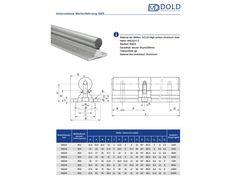 Linearführung, Supported Rail SBS16 - 300mm lang, 14,50 €