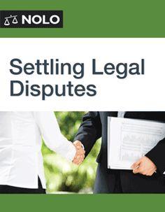 Settling Legal Disputes
